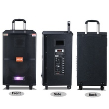 Big power multi-functional outdoor MBA trolley stage speaker <strong>10</strong> INCH with Stereo Stage BT Portable SA-6102