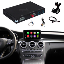 Wireless carplay box vehicle voice navigation multimedia mirror link for Benz W204 W205 W124 W211 W246 <strong>W123</strong> W166 W176