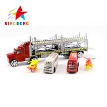 Tractor Trailer Toy Trucks <strong>Friction</strong> Powered Trailer Toy for Kids