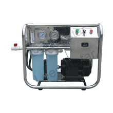 500LPD 24V DC SUS316 RO seawater <strong>filtration</strong> for boat portable seawater desalination