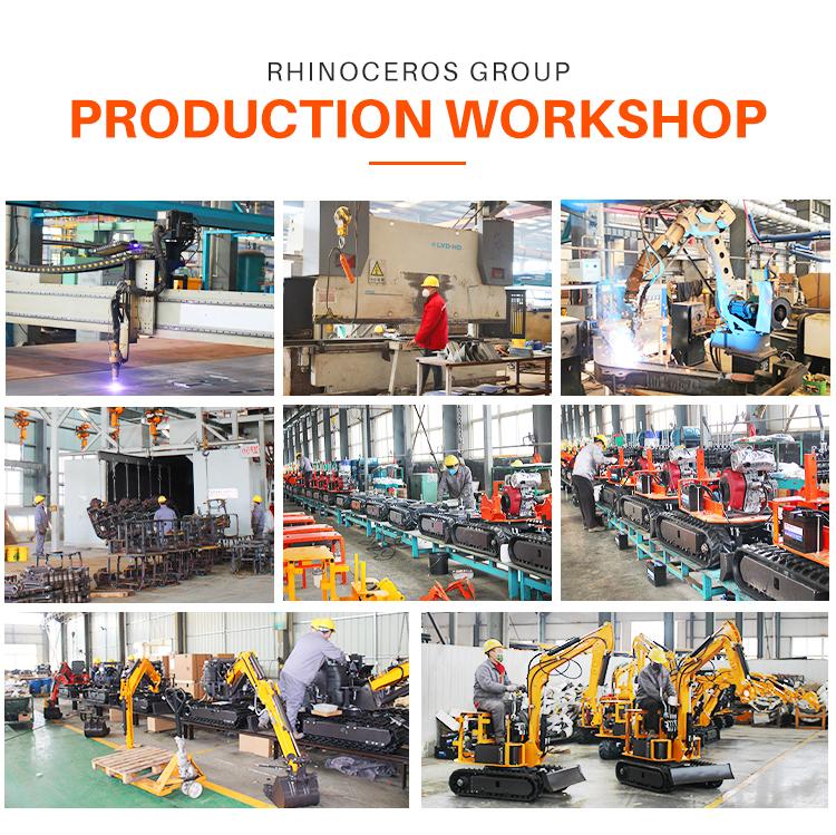 RHINOCEROS XINIU 1 ton Mini Excavator XN13e With EURO V Emission Engine Minibagger