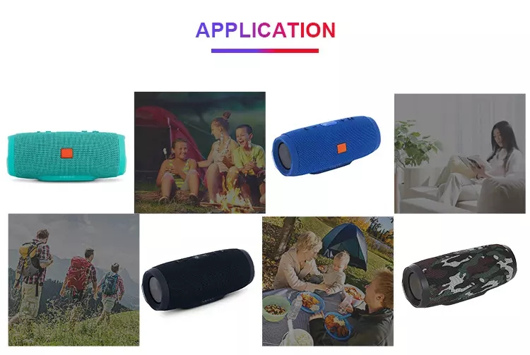 high-end  of different type waterproof mini bluetooth speaker