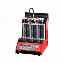 Factory price auto car fuel <strong>injector</strong> diagnostic and cleaning machine for car universal HO-6C