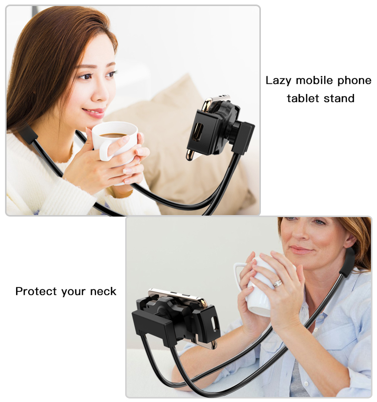 Multifunction Bed Desktop Mobile Phone Bracket Mount Flexible Long Arm Neck Lazy Tablet Phone Holder