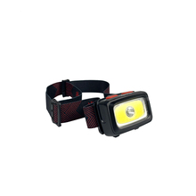 IPX6 Waterproof 3 AAA Batteries COB High Quality Head Lamp with Comfortable Adjustable Nylon Strap
