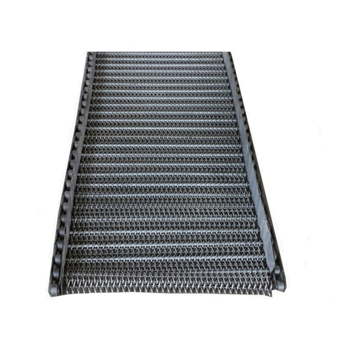 Perforated Stainless steel wire mesh chain metal plate conveyor belt