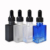 essential oil olive oil fancy rectangular 15ml 30ml 50ml 100ml glass dropper bottle with metal screw cap