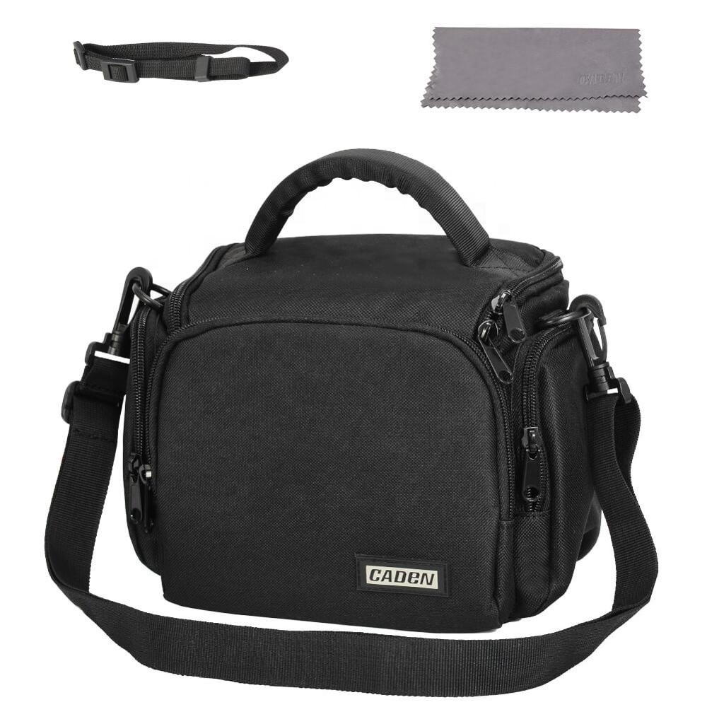 CADEN Outdoor Waterproof Simple Casual Sling Shoulder Crossbody bag <strong>Camera</strong> Backpack Bag
