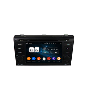 Double Din Touch Screen Android 9.0 Car Radio DVD GPS Audio Player For Mazda 3 2004-2009 supports CarPlay/WIFI/Google Play