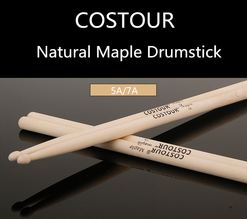 5A7A Entry Level Drumsticks  Maple Drum Stick