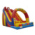 Party Fun Inflatable Castle Slide Playground Sliding Bouncer Slip n Slide Inflatable With Arch