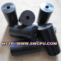 Solid Silicone Rubber Rod With Center Hole