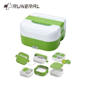 4 Compartment Contain Compart Big Bento Lunch Box