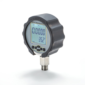 MD-S210 LCD digital water oil air pressure gauge with temperature  manufacture