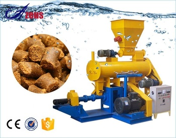Dry Wet Type Floating Feed Processing Machine For Fish,Animal,Pig Chicken Cattle Poultry Feed Pellet