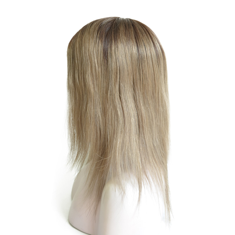 Brazilian Virgin Hair Full Swiss Lace Wig With Silk Top In The Front
