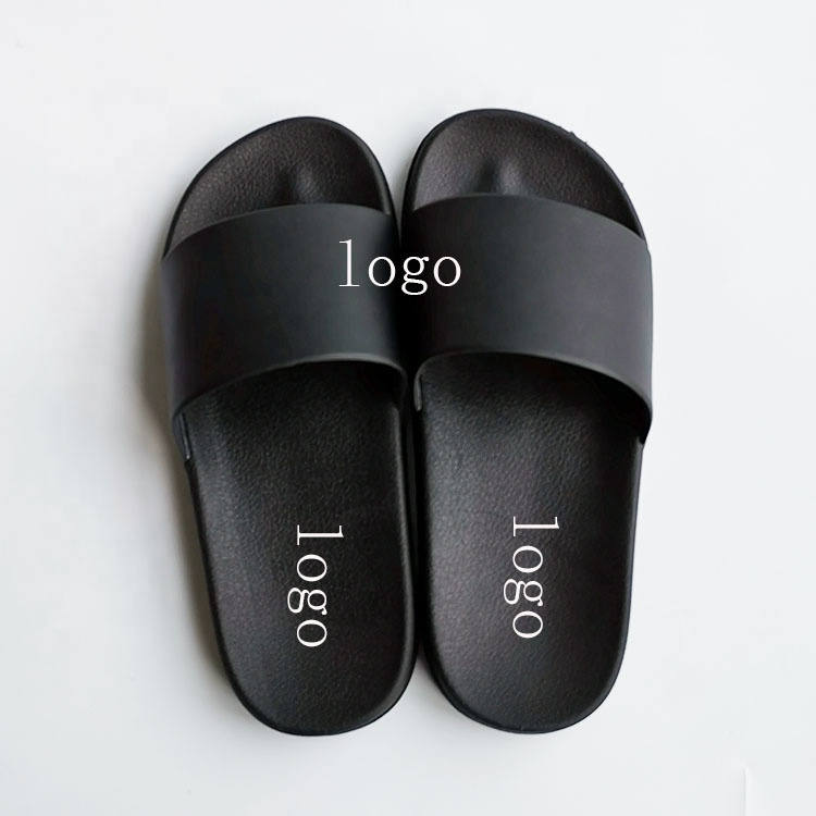 OEM Custom Black Slides Footwear Sandal PVC,Custom Logo <strong>Slippers</strong> Men Plain Blank Slide Sandal,<strong>Slippers</strong> Custom Logo Slide