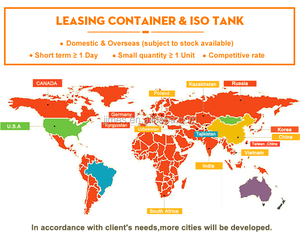 lease shipping container and lease tank container