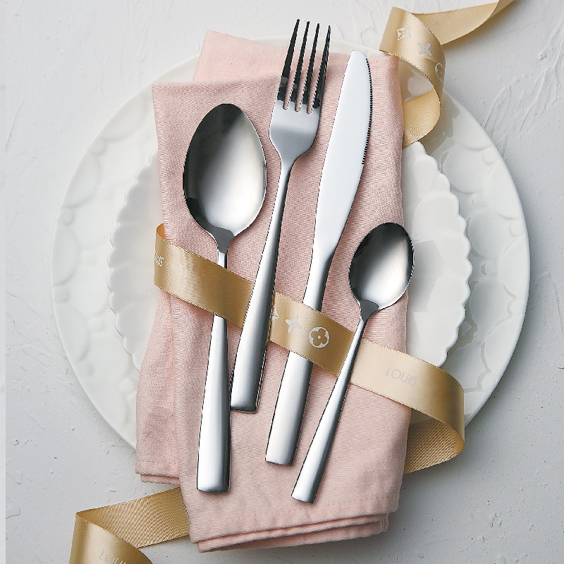 wedding cake cheese steak knife and server <strong>set</strong> stainless steel gold flatware honey spoon fork cutlery <strong>set</strong>