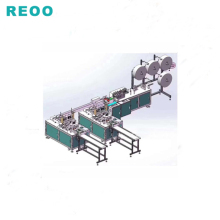 REOO N95 automatic non-woven mask production <strong>line</strong> for protective mask and dust mask