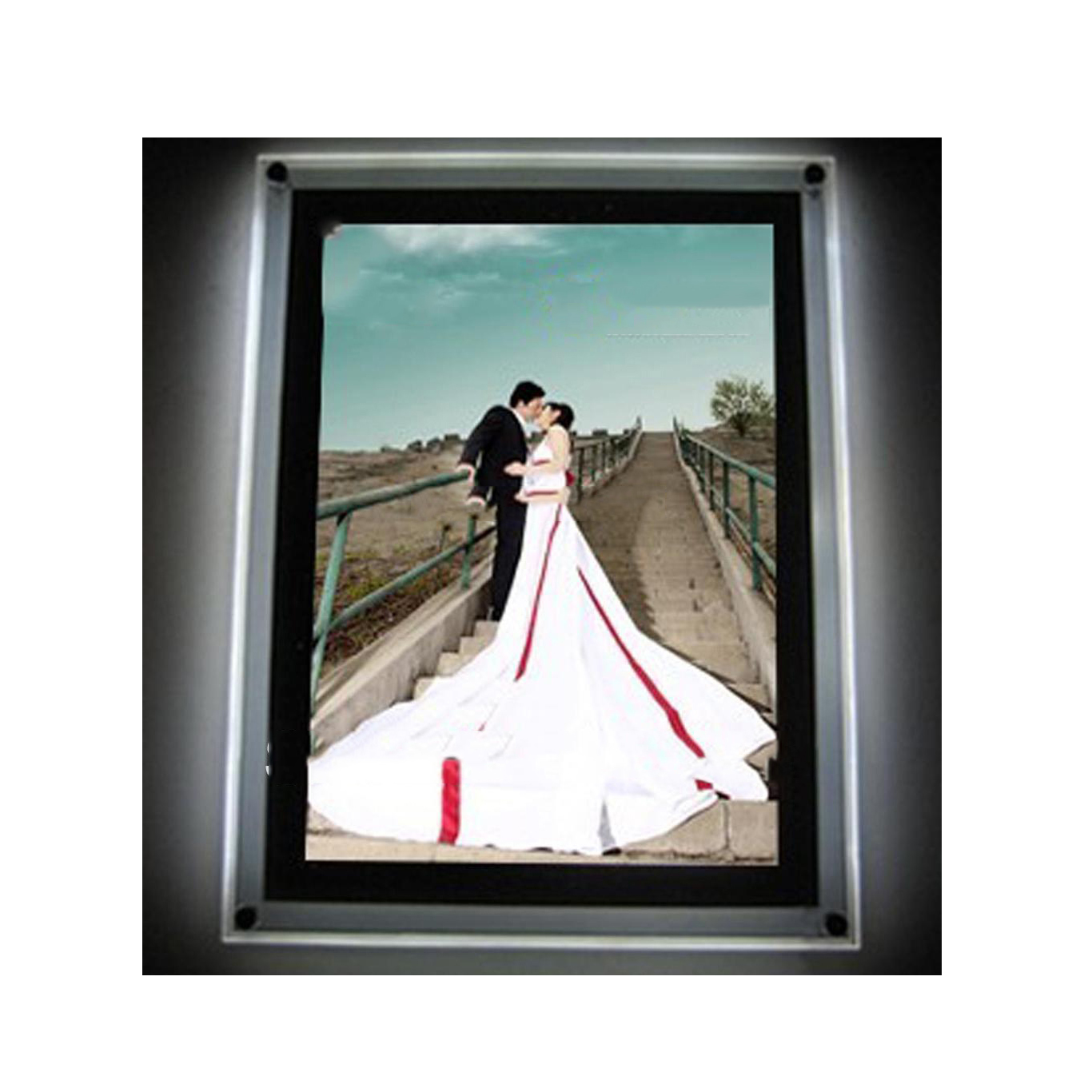 High Quality Frameless Clear Acrylic Poster <strong>Frames</strong>