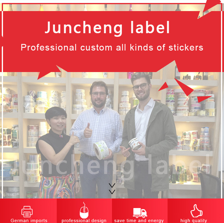 Custom Adhesive Waterproof Good quality color printing wine label