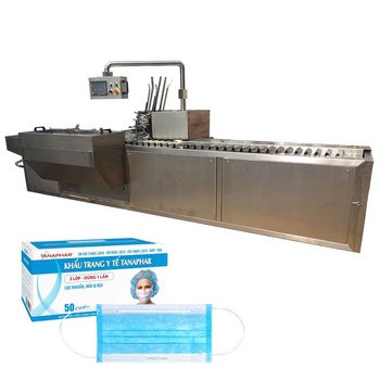 Fully Automatic Packaging Machine High Speed Face Mask Carton Packing Machine
