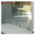 aluminum u channel profile for Frameless glass deck railing(SJ-H104)