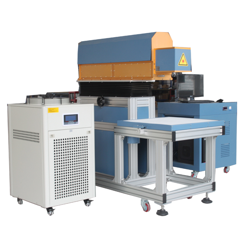 1 years warranty JPT RAYCUS IPG Ceramic tiles plastic marble jade crystal and cloth <strong>C02</strong> Laser Logo Printing Machine