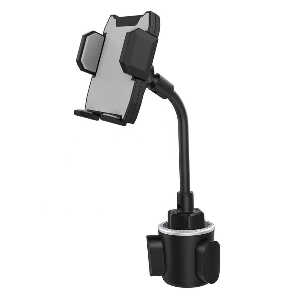360 Degree Rotation Car Drink Cup Smart Mobile Phone Holder Goose Neck H125+<strong>C114</strong>