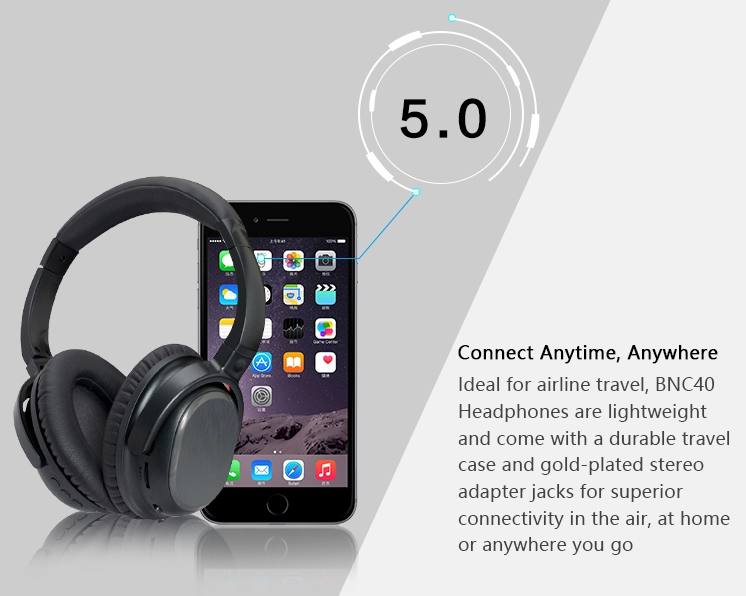 CSR Bluetooth 5.0 Stereo Noise canceling Headset