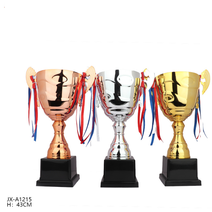 wholesale big cup metal stampings swimming gold trophy