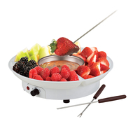 Professional Electric Chocolate Melting Pot with 2 Separated Parts