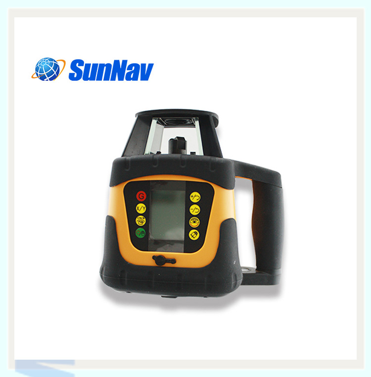 SMC100 surveying equipment : machine control receiver for rotating laser levels control box
