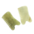 High quality natural green jade comb, scalp care gift comb