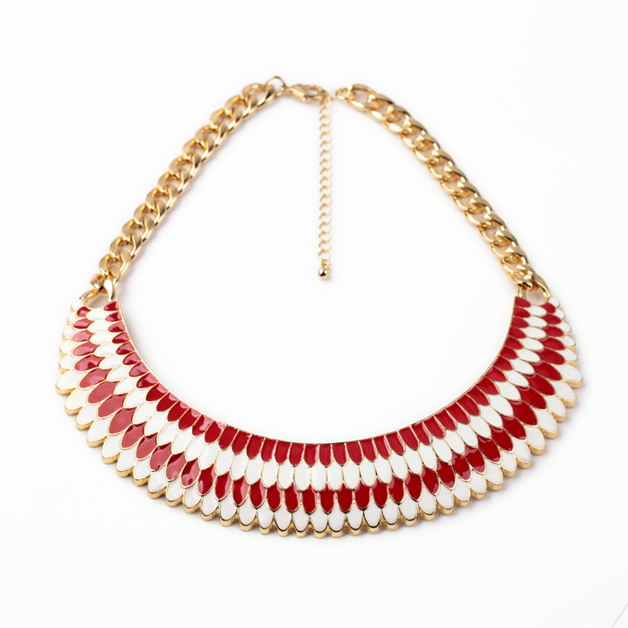 Wholesale Fashion Shell <strong>Jewelry</strong> Necklaces, dubai plaqu or Chain Necklace Bijoux, Custom Gold Plated Statement Necklace <strong>Jewelry</strong>