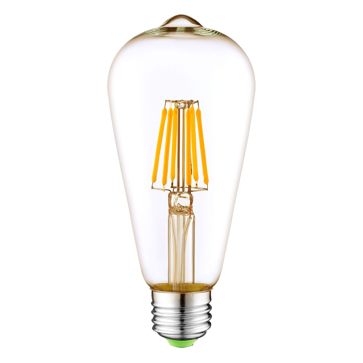 Energy Saving E27 Edison Lamp 110-220V LED Filament ST64 light <strong>bulb</strong>