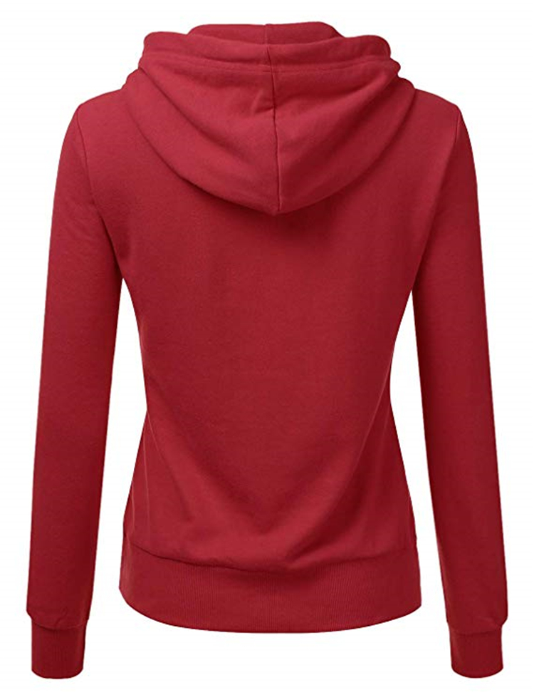 Wholesale Women Cloths Customized 100% Cotton Hot Sale Blank Oversized Long Sleeve Sweatshirt Women Hoodie
