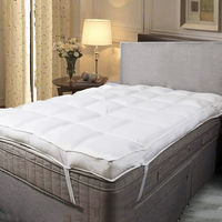 Factory wholesale breathable cotton fabric hospital bed mattress topper