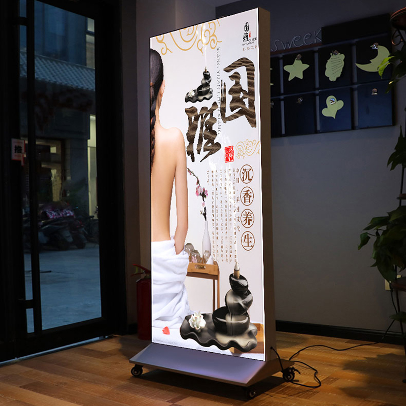 Custom Standing Lightbox 4FT 8FT 10FT 20FT Aluminium Display Stand Large <strong>LED</strong> Advertising <strong>Light</strong> <strong>Box</strong>