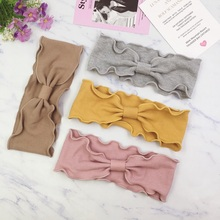 <strong>Hair</strong> <strong>Accessories</strong> Twist Bow Knot Fancy Hairband Korea Cute Elastic Headband For Girls