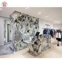 Onyx Level Decoration Natural Ice Green Marble Colorful Jade Marble Onyx