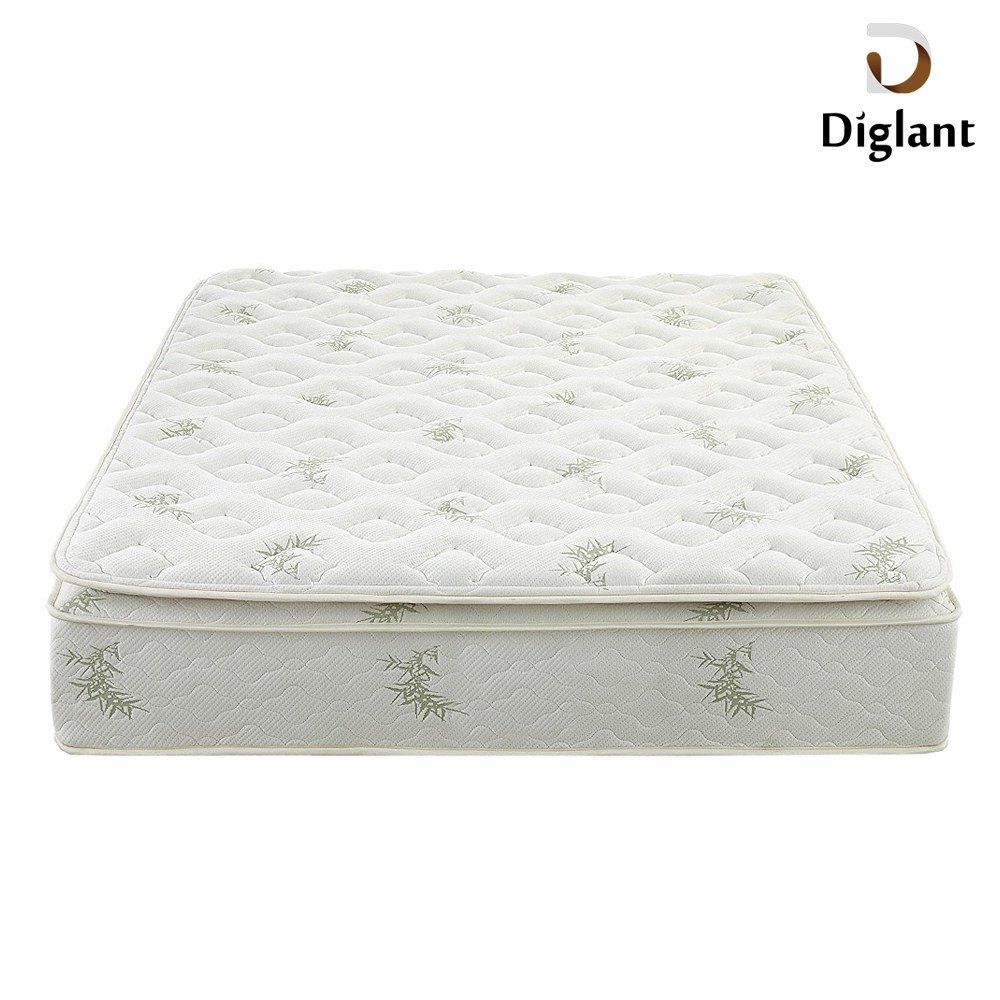 DM0114 Diglant Gel Memory Latest Double Fabric Foldable King Size Bed Pocket bedroom furniture queen size memory foam mattress - Jozy Mattress | Jozy.net
