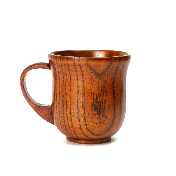 OEM factory custom making handmade carved wooden cup