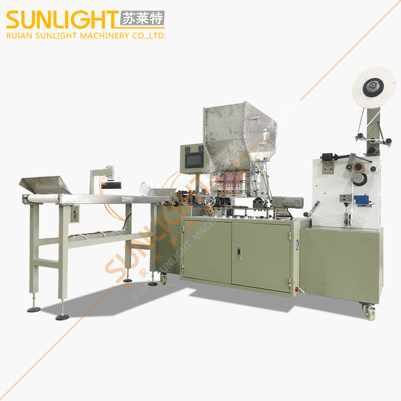 SULAITE-4100 High Speed PLC Control Length Single Paper Straw Wrapping Paper Packing Machine
