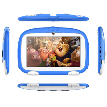 New Children's Learning Education machine Tablet PC best gift for Kids, 7inch HD with Silicone Case cover
