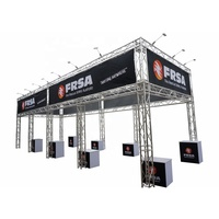 Hot sale steel building led stage truss display structure