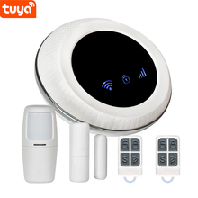 Wireless 433 WIFI GSM Smart Home Security Alarm System Tuya APP <strong>Remote</strong> Control