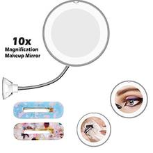 LED Mirror Makeup Mirror with LED Light Vanity Mirror 10X Magnifying Miroir LED Miroir Grossissant Magnifying VIP DROPSHIPPING