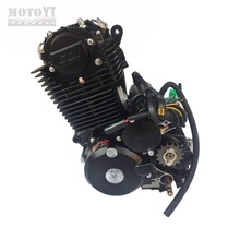 High speed 250CC Shineray motorcycle engine 5 gears for racers with ready to go engine kit